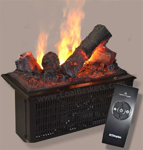 Coal Basket Fireplace Insert by Electric Coal Basket