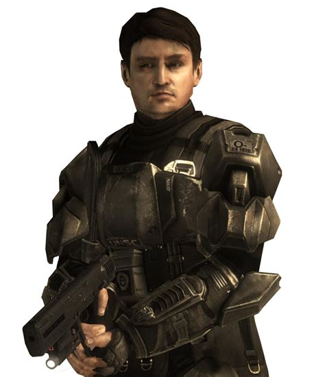 nathan fillion edward buck edward buck halo nation the halo encyclopedia halo 1