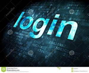 Online 3d Design Tools security concept login on digital background royalty free