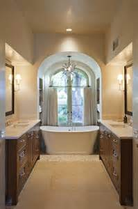 Freestanding Tub In Alcove Bathtub Alcove Traditional Bathroom And
