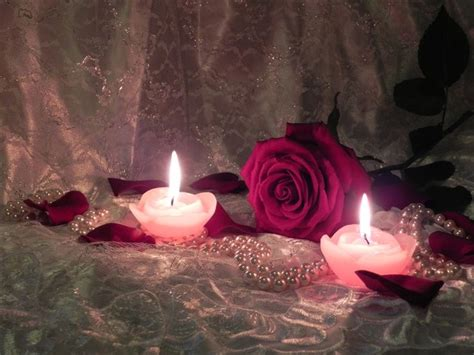 candele rosa candles and roses how candles flames