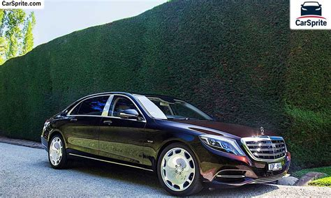 mercedes maybach 2017 prices and specifications in