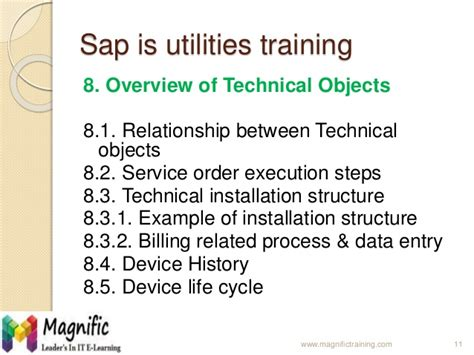 sap utilities tutorial sap is utilities training