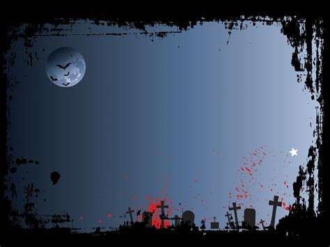 download powerpoint 2010 background themes graveyard powerpoint templates black blue red