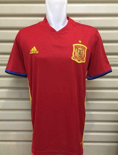 Jersey Gk Timnas Spanyol Home jersey spanyol home 2016 adidas jual jersey spanyol