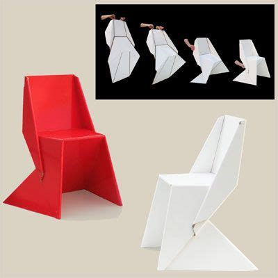 Folding Paper Chair - best 25 origami chair ideas on origami