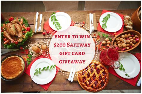 Safeway Gift Card Deal - enter to win 200 safeway gift card giveaway on january 5th super safeway
