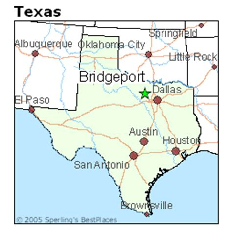 bridgeport texas map best places to live in bridgeport texas