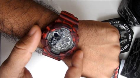 Casio G Shock Ga 100cm 4a ga 100cm 4a reloj casio g shock ga 100cm 4adr