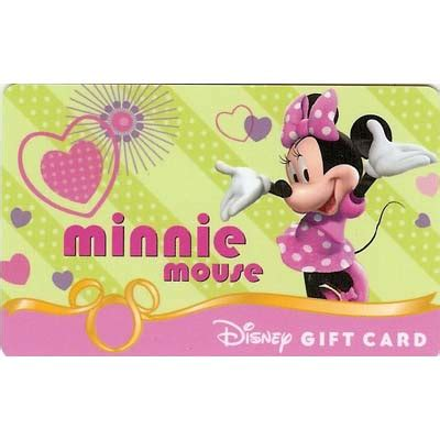 Gift Cards Fab - your wdw store disney collectible gift card fab six minnie mouse