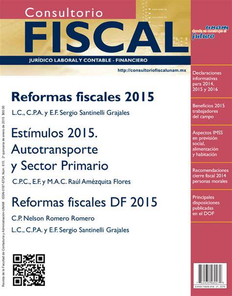 estimulos fiscales colegiaturas 2015 est 237 mulos y exenciones para 2015 autotransporte y sector