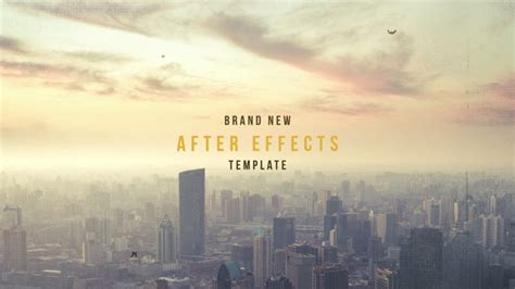 after effect title template forstine edgy title sequence after effects template