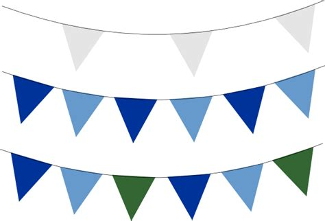 bunting banner no 2 flags clip at clker vector clip