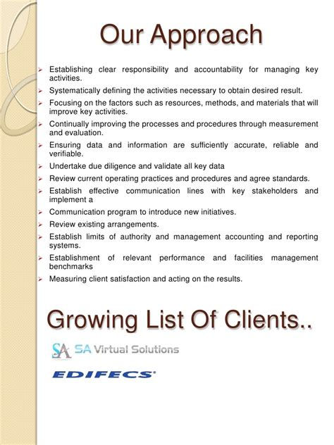Introduction Letter Facility Management Company Bhoomi Facility Management Services Bfms Company Profile