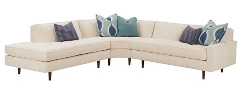 midcentury modern sectional zoey quot designer style quot mid century modern sectional