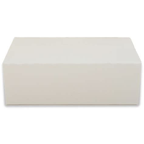 How To Make A Small Rectangular Box Out Of Paper - white rectangular paperboard take out box set of 12