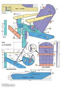 adirondack chair plans how to build an adirondack chair the family handyman