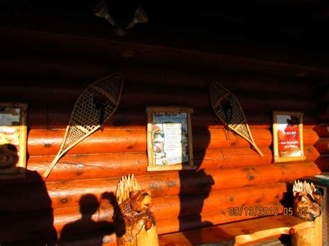 Log Cabin Restaurant Baraboo Wi by Porch Of The Restaurant Picture Of Log Cabin Family
