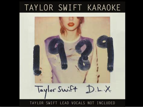 taylor swift change karaoke taylor swift 1989 karaoke digital booklet