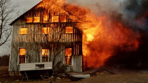 burning house running from a rabid dog into the burning house toknowhimtoday com