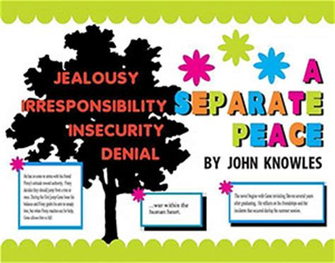 a separate peace book report make a separate peace poster book report project poster