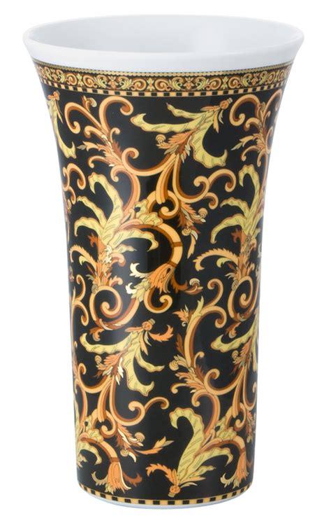 versace vasi vaso cm 26 versace barocco 14091 409606 26026 vaccarino