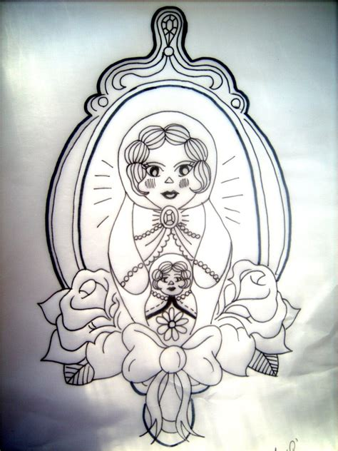 russian tattoo designs russian doll design by amylouisezombie on deviantart