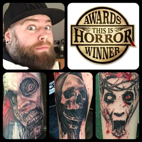 tattoo of the year photo this is horror awards 2014 winners this is horror