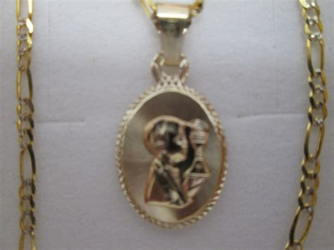 cadena de oro 10 kilates precio mexico cadena y medalla para primera comunion oro 10 kilates
