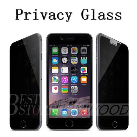 Iphone 7 Anti Privacy Tempered Glass Screen Guard Protector Kuat privacy tempered glass iphone 7 plus iphone 6s plus 5 samsung galaxy s7 s6 s5 note 7 note 5
