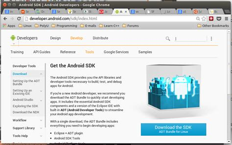 ubuntu manual eclipse install complete installation guide for android sdk adt bundle