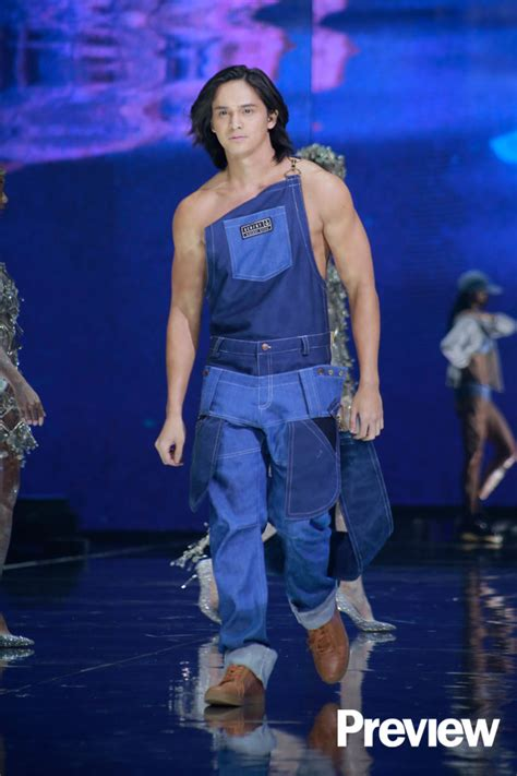 bench underwear fashion show gabbi garcia and ruru madrid show some serious skin at the