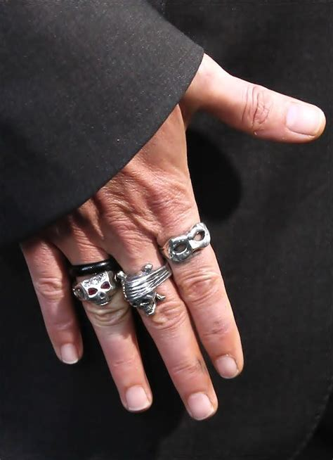 johnny depp tattoo on ring finger 1000 images about jewels on pinterest chrome hearts