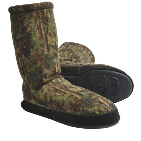 camo slipper socks acorn fleece slipper socks for save 35