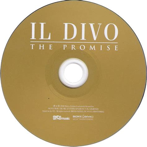 il divo cd car 225 tula cd de il divo the promise portada
