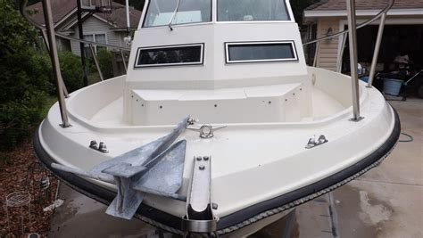 winner boats 2280 1987 winner 2280 sport cuddy walkaround with trailer in