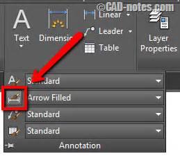 autocad tutorial arrow with polyline how to create custom autocad dimension arrow cadnotes