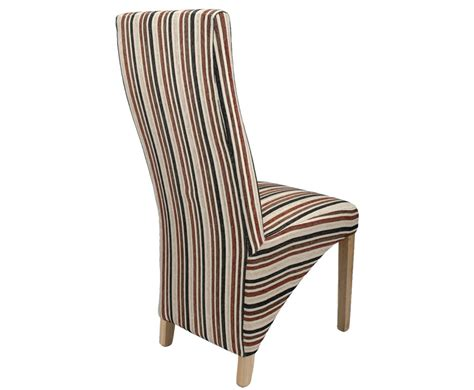 striped dining room chairs striped dining chairs roma stripe fabric dining chair