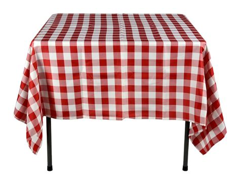 Cheap Restaurant Design Ideas by Red Amp White Tablecloths 100 Polyester Checkerboard Pattern