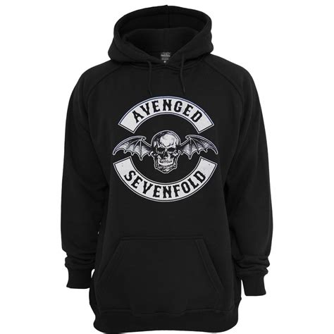 Jaket Hoodie Zipperavenged Sevenfold avenged sevenfold unisex hoodie stylecotton