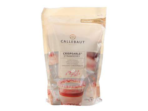 Callebaut Crispearls Stramberry 800 Gram crispearls strawberry callebaut