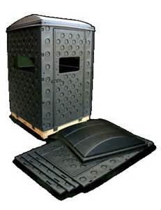 portable deer blinds snap lock blinds by formex the next generation