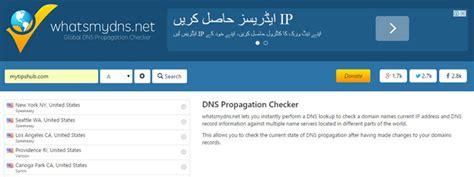 dns propagation checkers  webmasters mytipshub
