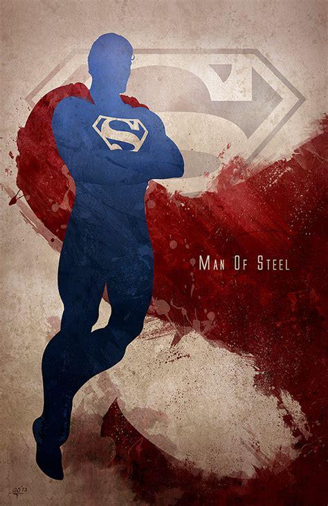 painting superman silhouette splatter geektyrant