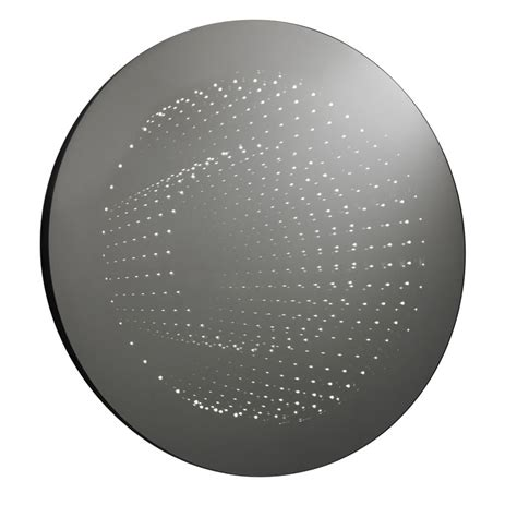 round led bathroom mirror ultra zodiac round infinity led mirror lq066 at