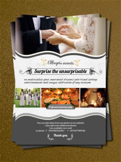 Event Planning Flyer Design Galleries For Inspiration Event Management Flyers Templates