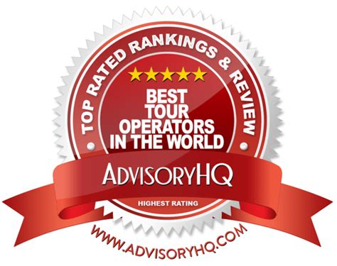 best tour operators top 6 best tour operators in the world 2017 ranking