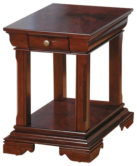traditional accent tables jofran 299 3 miniatures regal cherry end table