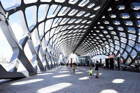 How To Interior Design Your Home a closer look at shenzhen bay sports center china org cn