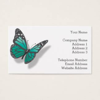 butterfly business card template butterfly business cards templates zazzle